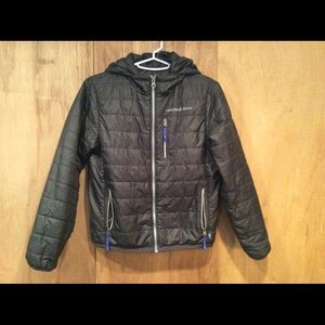 Vineyard Vines Black Winter Coat Size S (8-10)